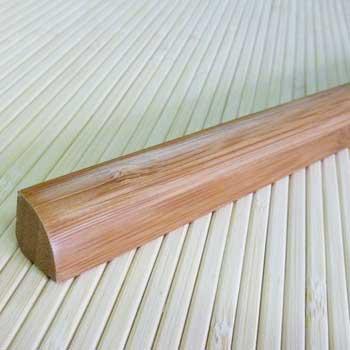 Планка из бамбука для внутреннего угла кофе. Тон 1