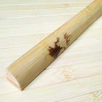 Планка из бамбука для внутреннего угла натуральная