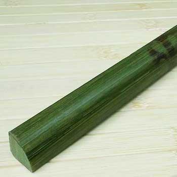 Планка из бамбука для внутреннего угла зелёная черепаха