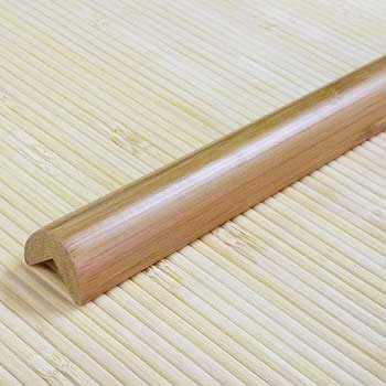 Планка из бамбука для внешнего угла кофе. Тон 1