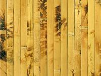 Бамбуковые обои жёлтая черепаха