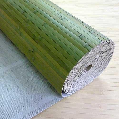 Бамбуковые обои ЛАЙМ 17 мм