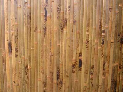 Бамбуковые обои коричневая черепаха