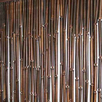 Бамбуковая штора венге