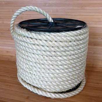 Сизалевые канаты и верёвки