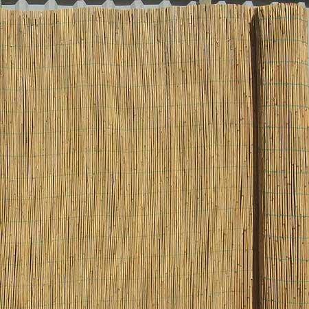 Тростниковый забор, тростниковые маты